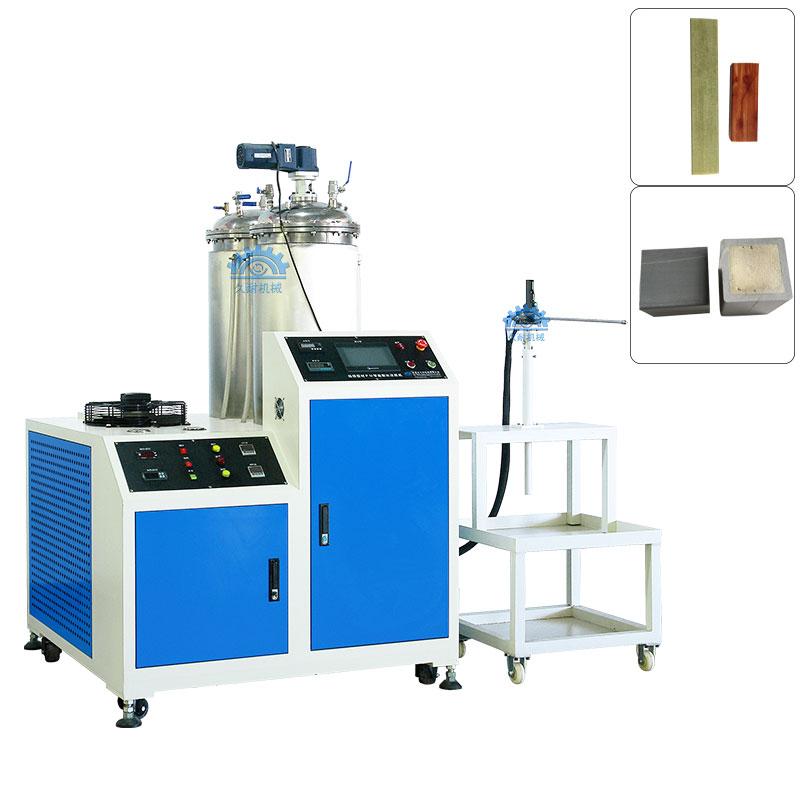 拉挤型材灌胶机丨玻璃钢管道生产设备