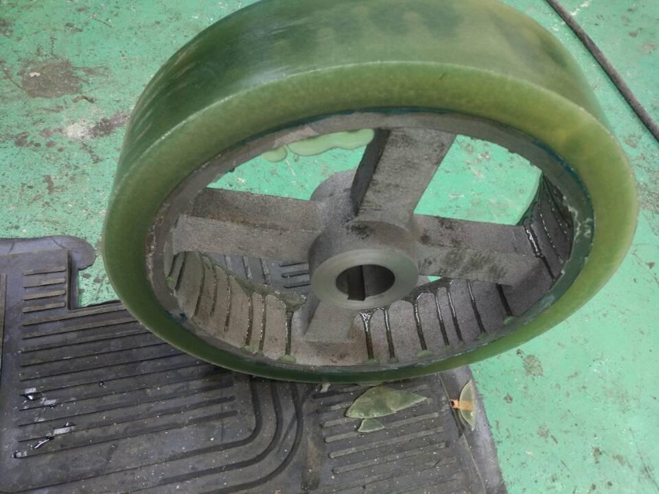 聚氨酯弹性体浇注脚轮
